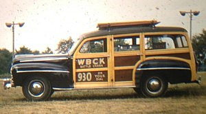 WBCK Remote Van 1948