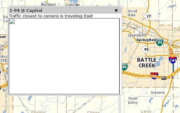 Battle Creek, Kalamazoo MDOT Traffic Cameras on I-94 Down Indefinitely