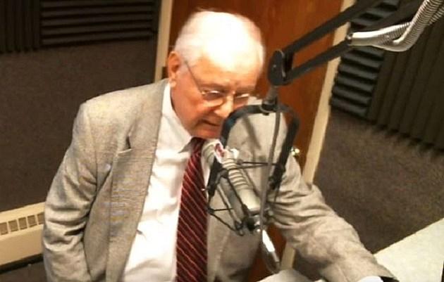 Former U.S. Representative, Senator and Battle Creek Mayor Dr. Joe Schwarz in the WBCK studio September 21, 2016. TSM-WBCK