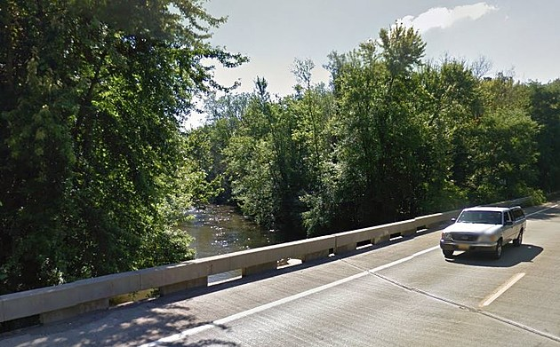 The Man Allegedly Jumped Off Of This Bridge. (Credit: Google Street View)