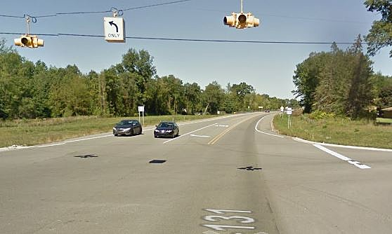 US-131 In Constantine (Credit: Google Street View)