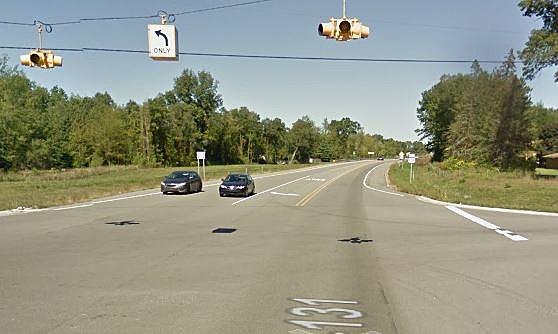 US-131 In Constantine (Credit: Google Street View)