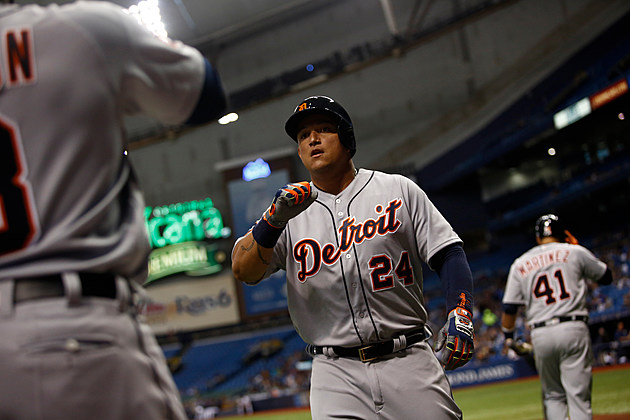 Detroit Tigers v Tampa Bay Rays