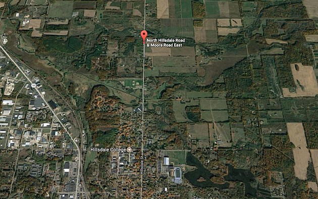 The Boy Went Missing Just North of Hillsdale. (Credit: Google Maps)