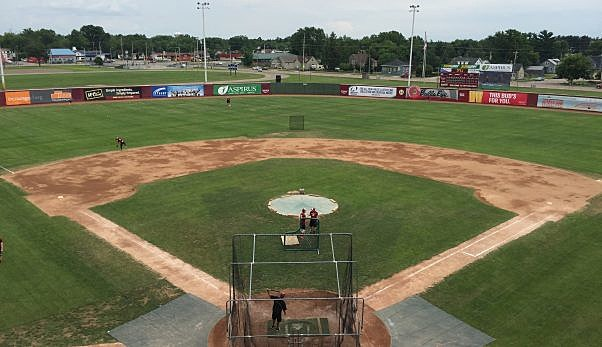 Wisconsin Rapids Rafters Park-BC Bombers Photo