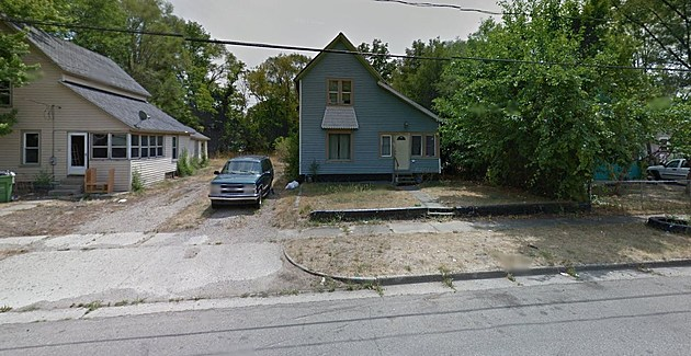 The home on Fourth Street before the fire (Google Street View)