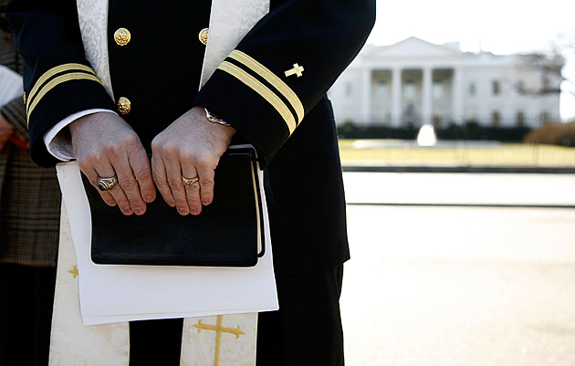 Navy Chaplain Protests Military Prayer Rights