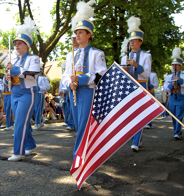 Americans Celebrated Independence Day with Parades